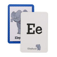 Children'S alphabet Learning Card custom, Flash cards For Preschool Toddlers