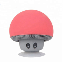 Lucu Portabel Jamur Sucker Tahan Air Nirkabel Bluetooth <span class=keywords><strong>Speaker</strong></span> Ponsel <span class=keywords><strong>Mobil</strong></span> Mini <span class=keywords><strong>Speaker</strong></span>