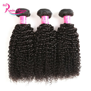 Grade 8a Mongolian Kinky Curly Hair, Unprocessed Human Hair Weave, Cuticle Aligned Virgin Hair
