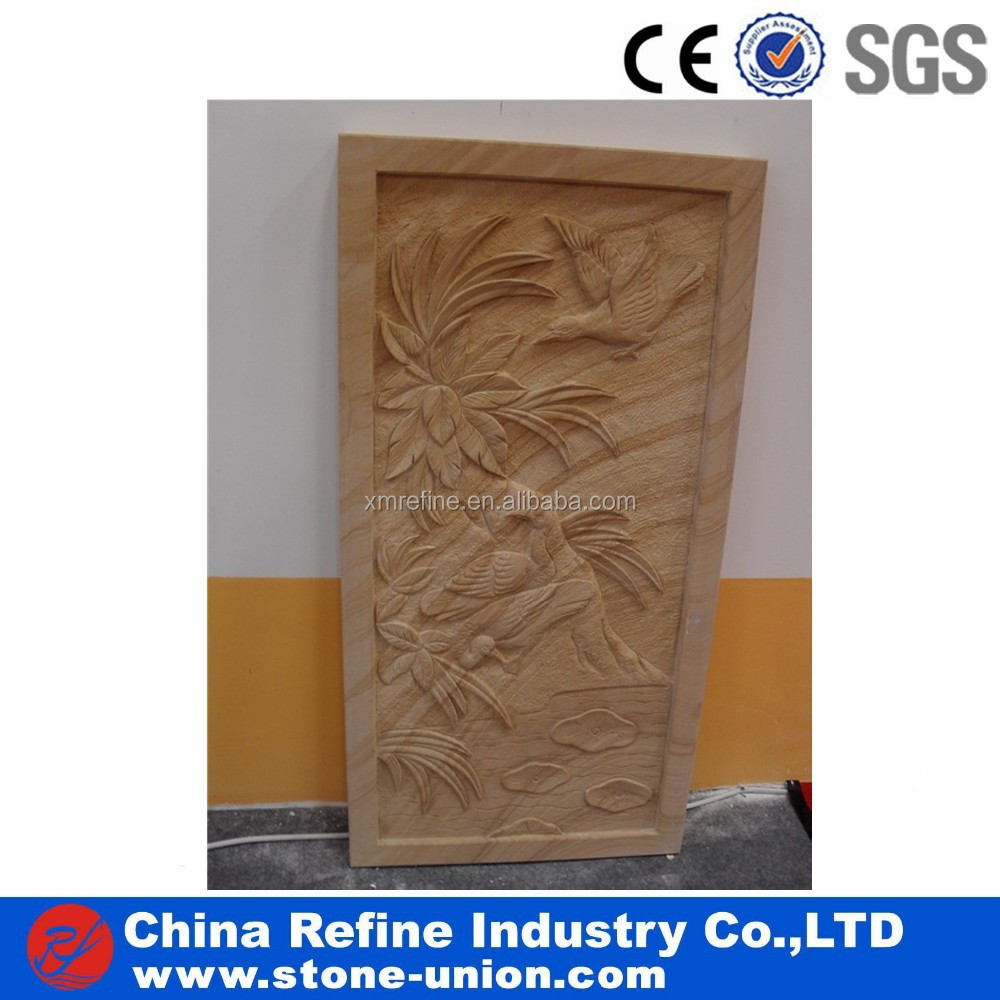 Custom relief carving and architectural wood carving wood