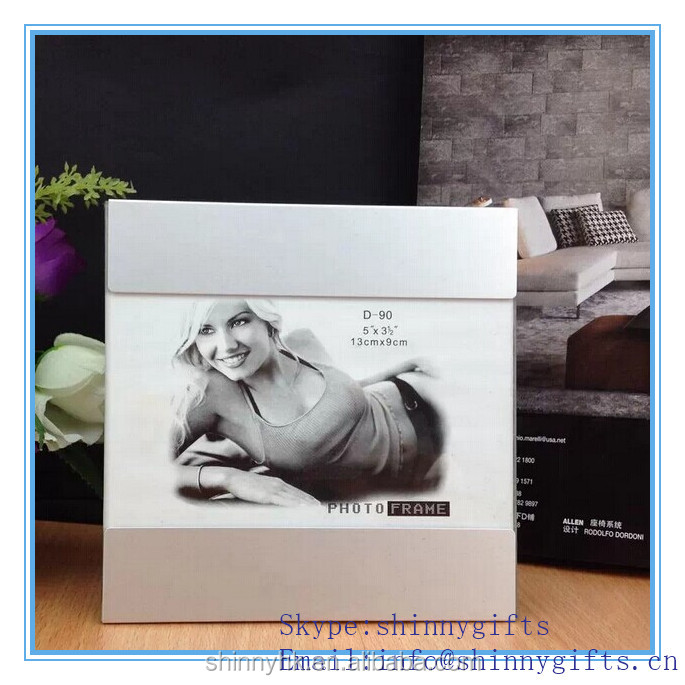 Manufacturer Offer Simple design cheaper frame photo aluminum materials photo frame