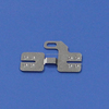 Custom leaf spring battery SMD pcb metal contact