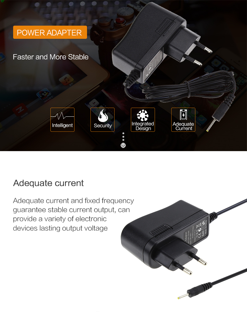 Dinding Mount Input 100 240 V 50/60Hz Switching Supply Adaptor 5V 12V 1A 2A 3A AC DC Power Adapter