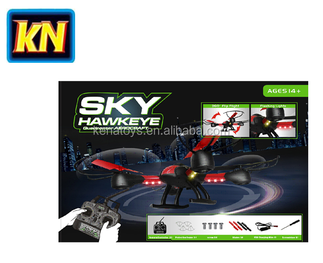 2017 Newest 1315A SKY HAWKEYE 2.4G 4CHANNEL RC QUADCOPTER