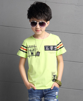 The new fashion summer children wear T-shirt boys short sleeve kids clothing