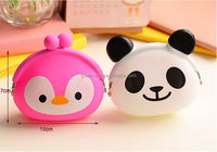 lovely cute customized change purse. silicone rubber change purse