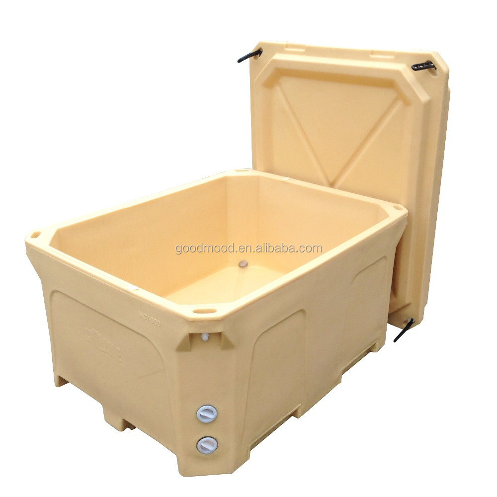 1000L Large cold chain logistics seafood processing commercial cooler box