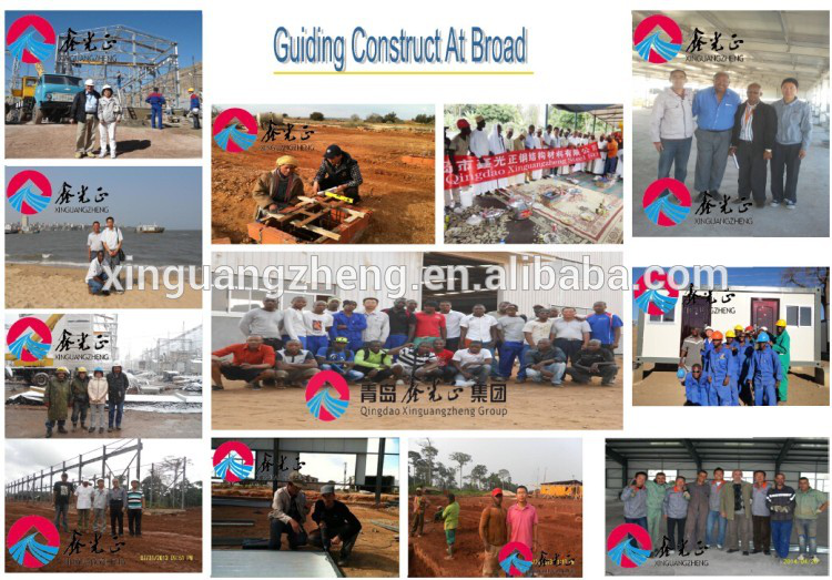 Hot sale prefabricated steel structure building logistic warehouse in Uzbekistan
