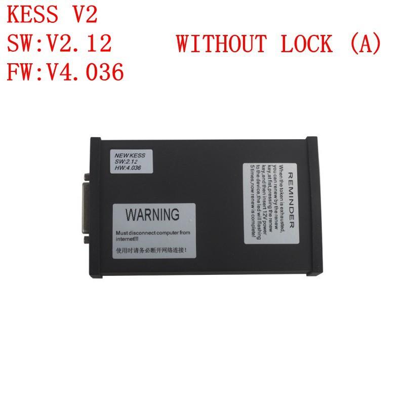Самое лучшее качество Kess V2.12 OBD наивысшее качество чип поворота слишком без замка ( 4.036 ) тоже без замка ( а )