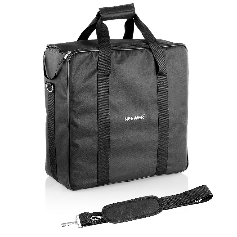 """Neewer® 20""""x20""""x4""""/50x50x10 CM Polyester Portable Double Carrying Case Bag for Two Pieces Neewer,Nanguang CN-576,600LED,CN-600SA,CN-600H,CN-600CSA LED Lighting Panels"""