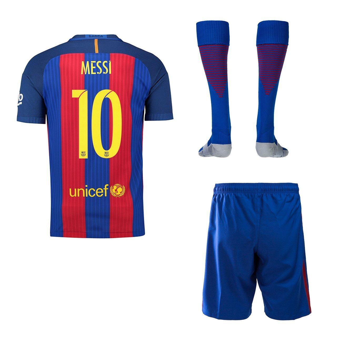 finest selection efbe0 6dcf2 Buy 2016/2017 Barcelona Home #10 Messi Kids Soccer Wear ...