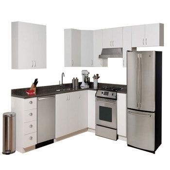 Guangzhou I Shaped And L Shaped Modular Kitchen Cabinets Buy