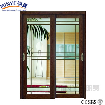 Balcony Design Glass Terrace Door Aluminum Sliding Door Price