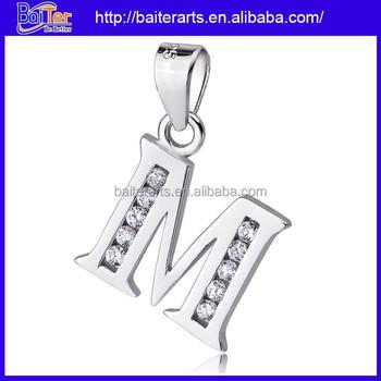 925 sterling silver paved diamond m alphabet pendant design letter m 925 sterling silver paved diamond m alphabet pendant design letter m pendant altavistaventures Gallery