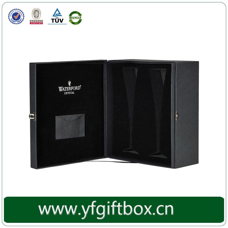 Paperboard Paper Type and Display Industrial Use wine box with magnet