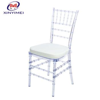 High End Hotel Furniture, Garden Swinging Chairs, Factory Price White  Weddingresin Chiavari Chair