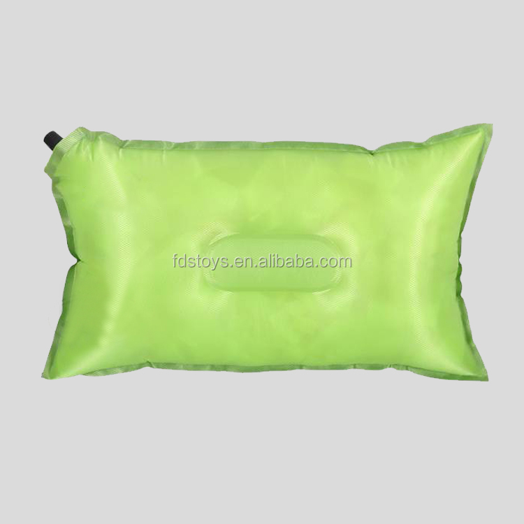 high quality Self inflatable cushion neck pillow