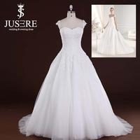 Beautiful A-line Sweetheart Beaded Lace Corset White Designer Pakistani Fancy Wedding Dress 2015