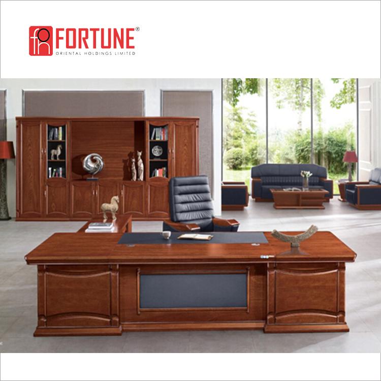 Hot Sale Antique Boss Cherry Wood Office Tables And Chairs(fohb5a 281)    Buy Office Tables And Chairs,Executive Office Computer Table,Executive  Office ...