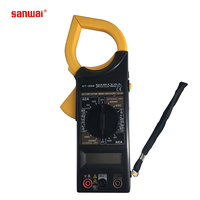 factory supply low price professional 3 1/2 digits 2000 counts digital clamp meter DT266 with manual