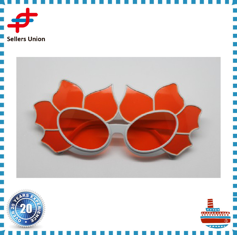 flower shaped party glasses OEM different type company
