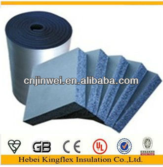 Rubber plastic thermal insulation sheet rolls and tubes for Quick therm insulation cost