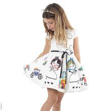 New Casual Children Dress White Cute Infant Girl s Dresses Ropa De Bebes Clothing Girls Princess
