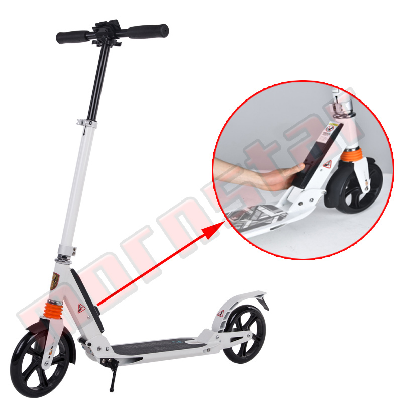 Lightweight Height Adjustable Teenagers Adult Folding Kick Scooter