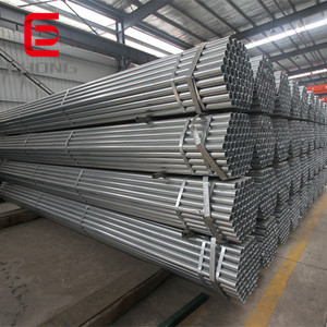 Ehong Steel 1/2 inch to 4 inch carbon welded steel pre galvanized pipe
