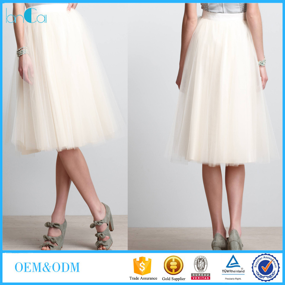Customize New Women fashion princess Multi Layered Prom puffy Tulle Skirt