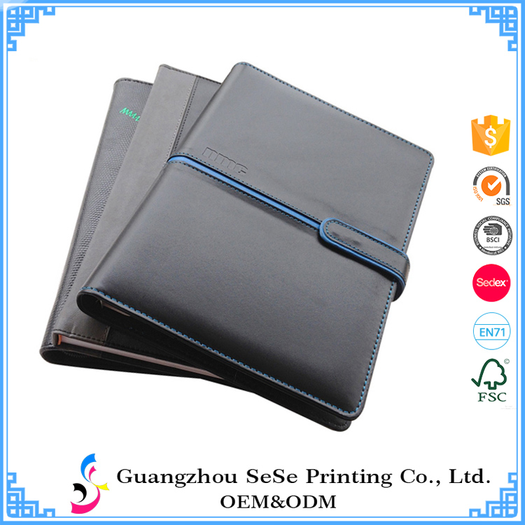 Oem Custom Hardcover Spiral Bound Notebook With Company Logo Print ...