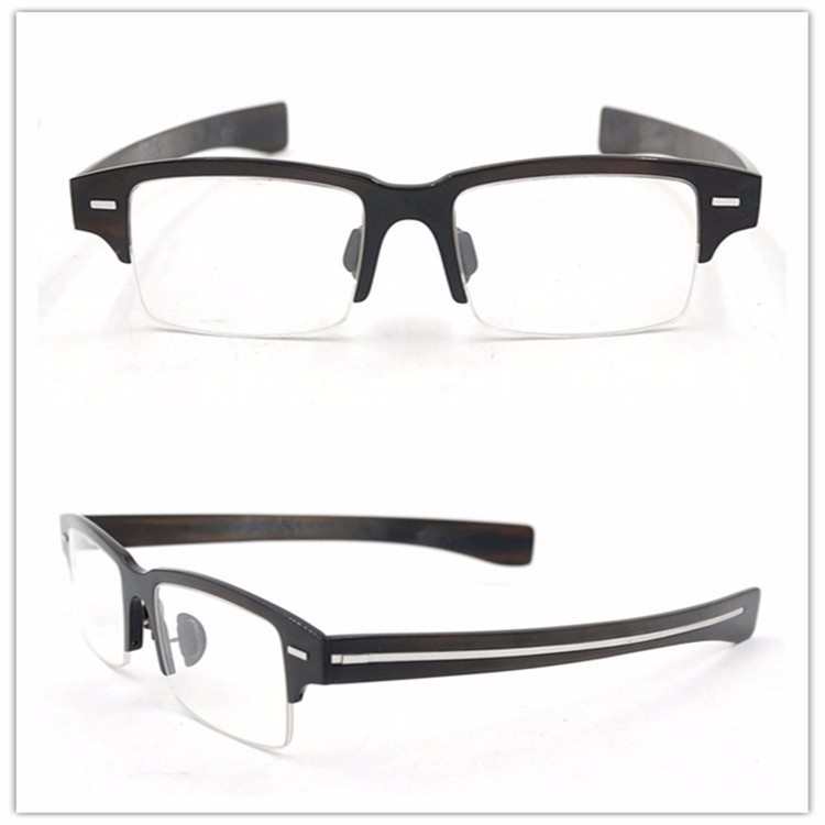 Classic Optical glasses Buffalo horn optical plates Eyeglasses
