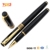 Smooth Black Commercial Gift Stationery High Quality Metal Ballpoint Pen and Rollerball Pen