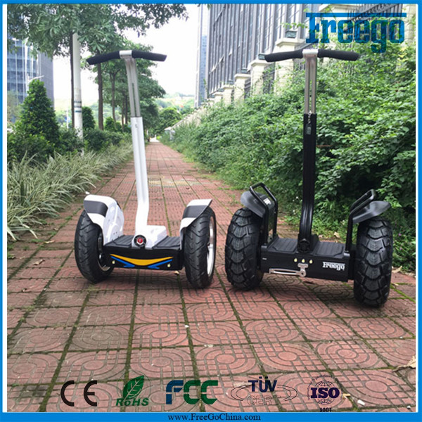 China electric chariot x2 Personal transporter,Freego Off road 2 wheel electric scooter self balancing