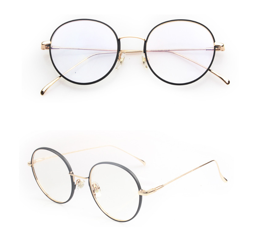 China Wholesale 2018 New Model Round Metal Frame Latest Glasses ...