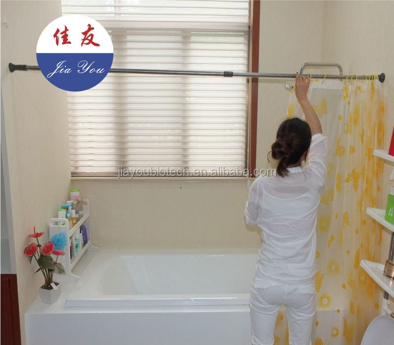 Shower Curtain Rod, Shower Curtain Rod Suppliers And Manufacturers At  Alibaba.com