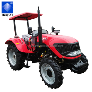 china cheaper 754 model four-wheel tractor with YTO engine