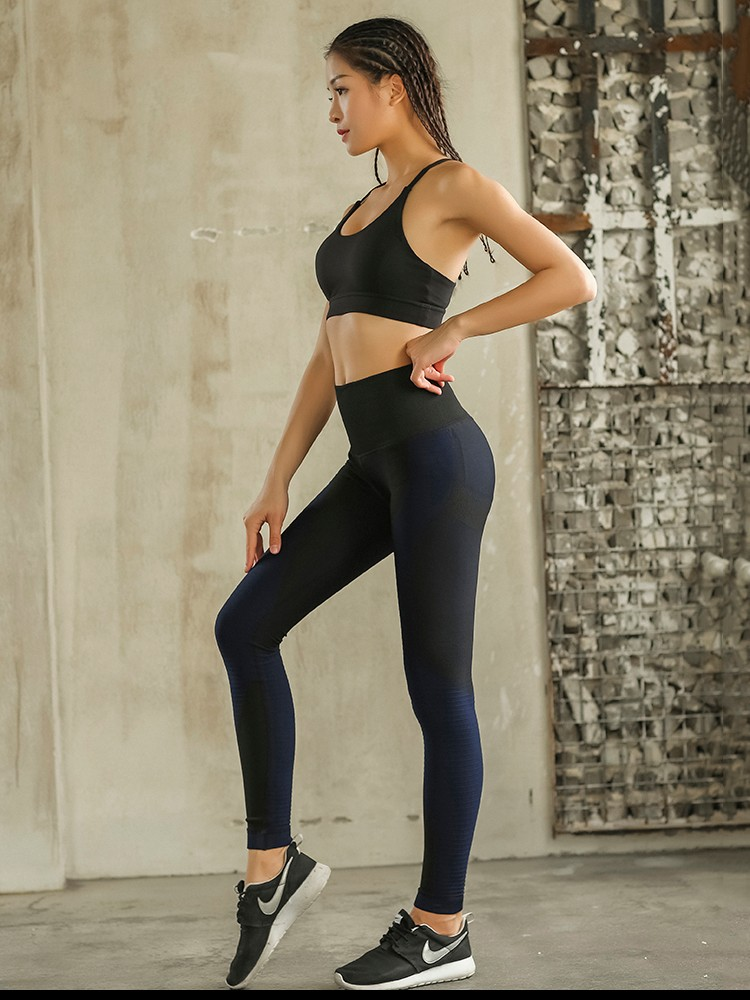 Oem Women Custom Activewear High Quality Women Tight Yoga Pants 3