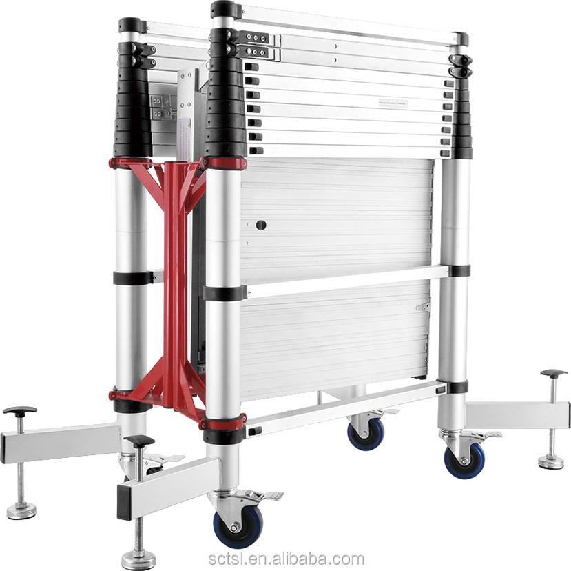 Construction aluminium scaffolding ladder