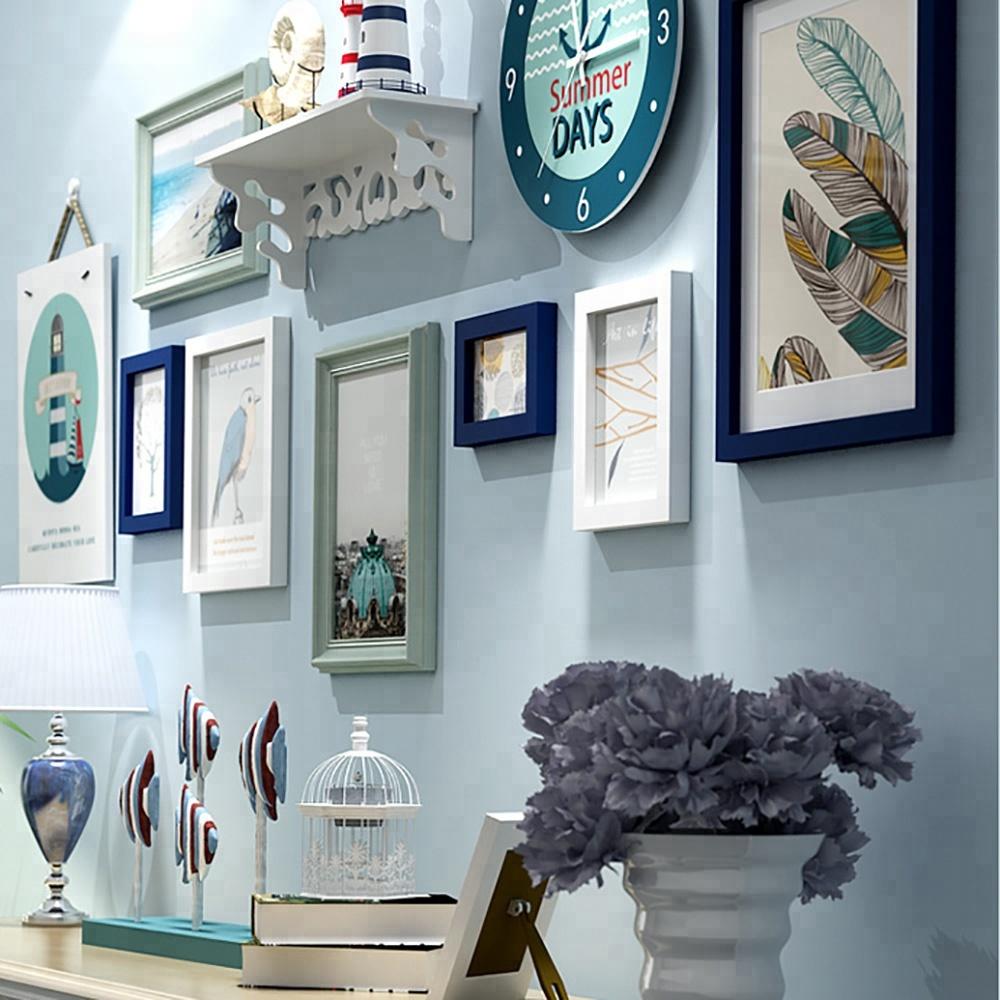 5 marco montado en la pared Juegos foto de decoración de interiores ...