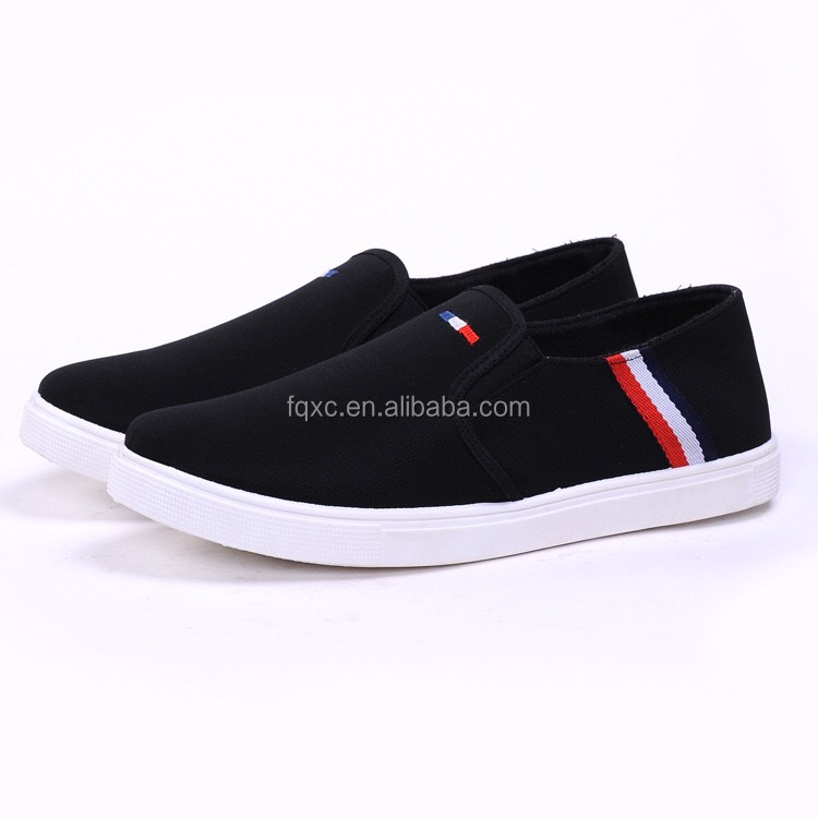 2017 Cheap Pvc Injection Men Canvas Shoes for Yiwu Market