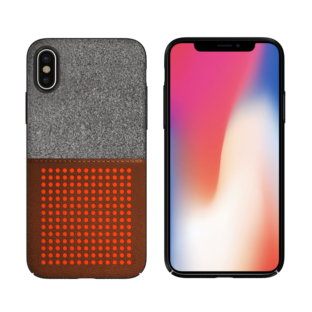 For iPhone X Case,PU Leather Phone Case With Card Holder Mobile Back Cover For iPhone X Leather Case фото