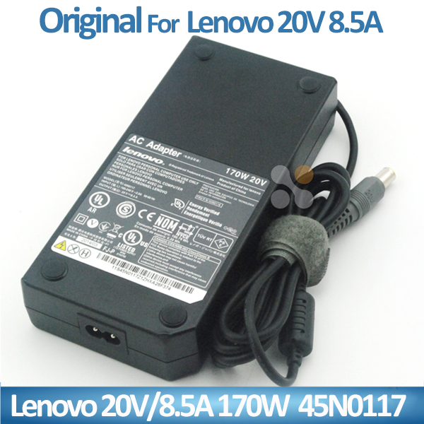 New 20V 8.5A 170W AC Adapter Charger FOR LENOVO IBM Thinkpad W520 W530 45N0117