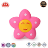 ICTI certificated custom made flower shape squeeze toy with tongue