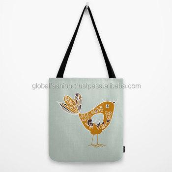 Custom Printed Canvas Tote Bag Fashionable Tote Bag,Beach Printed ...