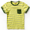 stripes t shirt custom pocket t shirt pattern