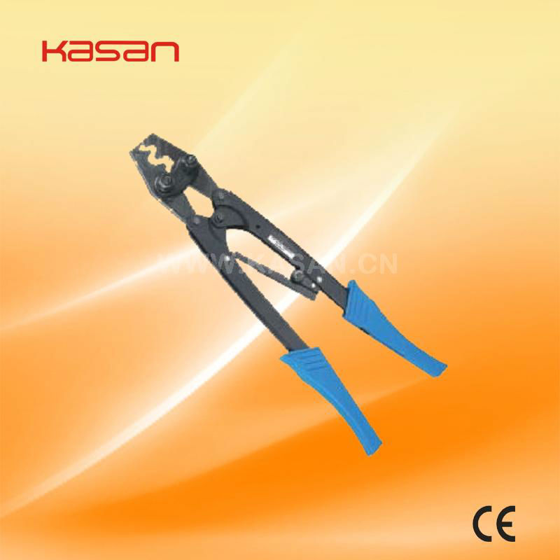 HS-22 cold press plier for non-insulated term terminal