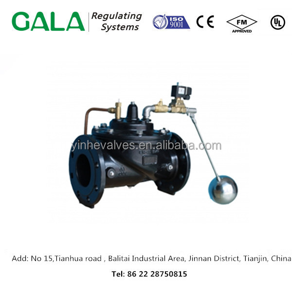 Professional manufacturer custom GALA 1310 1-Float control valve Modulating for water