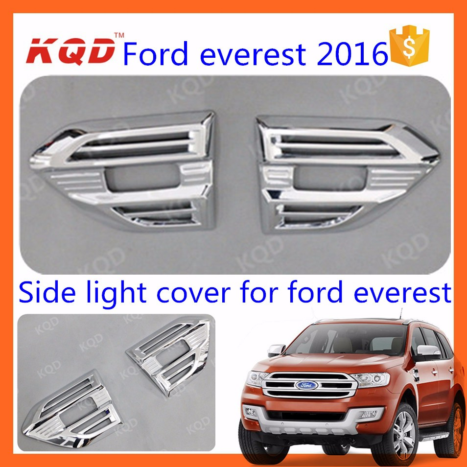 Everest accessories abs rear bumper guard plate protector for everest 2015 car rear bumper