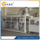 plastic thermoforming machine with tilting mould for disposable cups